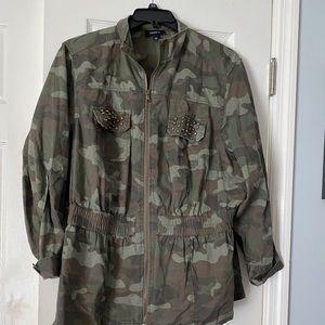 Torrid Camo jacket
